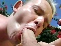 Handsome gay guys in anal deed
