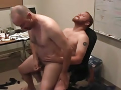 Matured man-lovers pooch mcgee and david marx find office place to bang in 5 episode