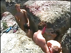 Sexy twink dia fucking in scenic location in 1 episode