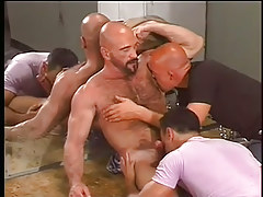 Glory hole for gay guys and bears in 2 episode