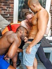 Derek Reynolds::Jordano Santoro::Ryan Russell - in Homosexual Porn Images