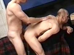 Gay guy dudes playing anal fuck