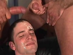 Gay takes his first weighty cock