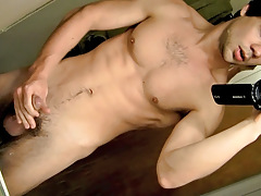 POV Cock Stroking In The Baths - Zack Randall