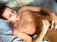 Gay Cum Eating