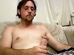 Shaggy, Straight, Amateur Guy Experiments with Sex Apparatus - TrikinMatt