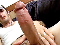 Tattooed RockStar Jerks Off and Cums - Axel
