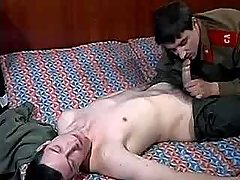 Army guy seduces and digs boy-friend