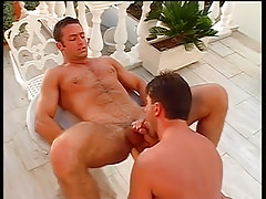 Sexy homo guys end up covered in spunk in 4 episode