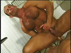 Hot navy guy getting taste of cock in 7 clip