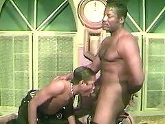 Nasty dark gays anal intercourse heavily