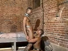 Black twink spreads for huge weenie