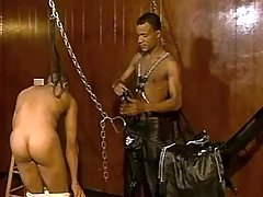 Lustful black gays have a fun it tight