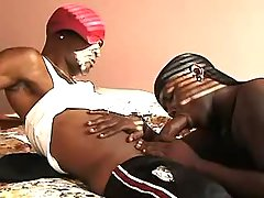 Narrow black apple bottoms plugged real hard