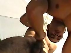 Lustful dark studs fuck brains out
