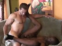 Shady dude gets assbanging in orgy