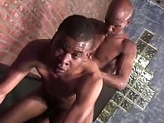 Filthy black gay gets slammed rigid