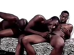 Black gay taking splendid anal reaming