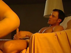 Hot dude rides hard cock