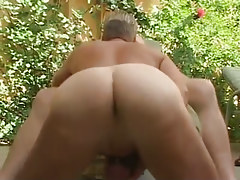 Gay male with sweet hole sucks old gay