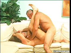 Oldest silver gay fucks hirsute dilf
