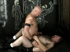 Gay dilfs rides hairy mature man