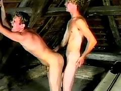 Gay anal group-sex