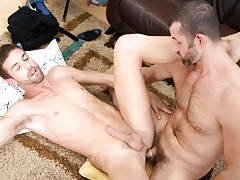 CJ's obese cock is a bargain deal that Jake can't pass up!