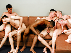 Fellatio Fest Party! The Boys Are Switching Sucking Assistants